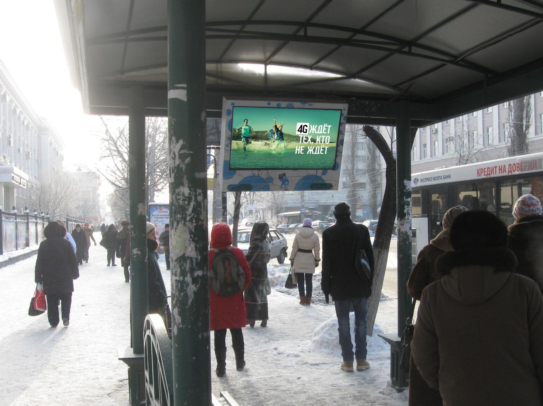 реклама на остановках Воронеж