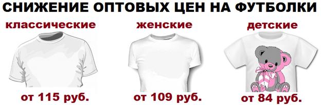 печать на футболках в Воронеже