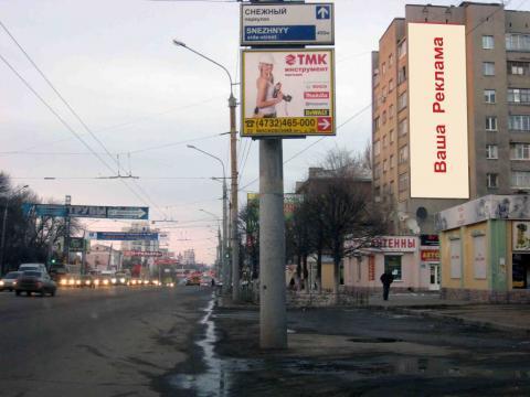 брандмауэр Воронеж Московский проспект 30