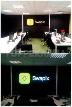 интерьерная-вывеска-объемные-буквы-SWAPIX-в-Воронеже