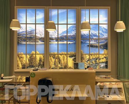 интерьерный-световой-короб-в-виде-окна-эконика-Воронеж