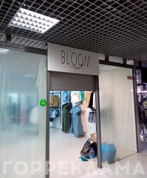 плоская-эконом-вывеска-BLOOM-Воронеж