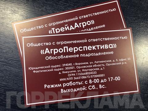 таблички-ТрейдАгро-АгроПерспектива-Воронеж